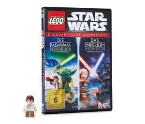 Doppel-DVD »LEGO® Star Wars« – »Die Padawan-Bedrohung« und »Das Imperium schlägt ins Aus«