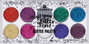 essence cosmetics Glitzer get your glitter on! glitter palette multi