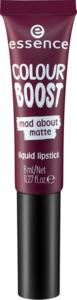 essence cosmetics Lippenstift colour boost mad about matte liquid lipstick pride and redjudice 10