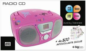Tragbares CD/Radio CD46 - Kids