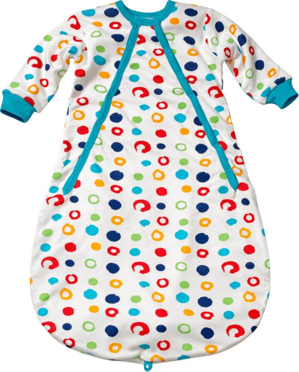 ALANA Baby-Schlafsack, Länge 80 cm, in Bio-Baumwolle, bunt, für Mädchen und Jungen