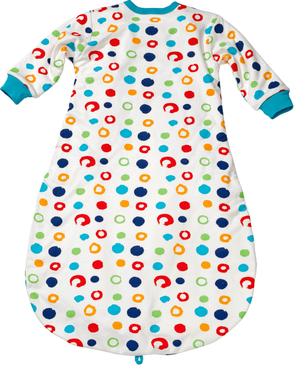 Bild 2 von ALANA Baby-Schlafsack, Länge 80 cm, in Bio-Baumwolle, bunt, für Mädchen und Jungen