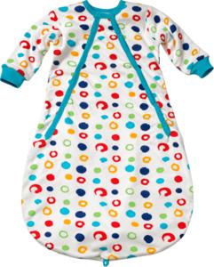 ALANA Baby-Schlafsack, Länge 70 cm, in Bio-Baumwolle, bunt, für Mädchen und Jungen