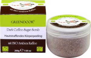 Greendoor Sugar Scrub Dark Coffee