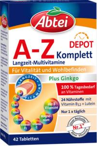 Abtei A-Z Komplett  Multivitamine