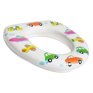 SMIKI Kinder WC Sitz Fahrzeuge weiß
