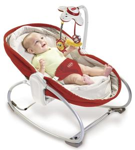 Tiny Love Babywippe 3in1 Rocker-Napper Rot