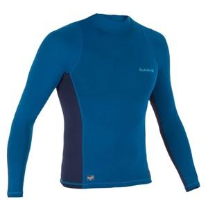 OLAIAN UV-Shirt langarm Surfen Top 500 Herren blau, Größe: XL