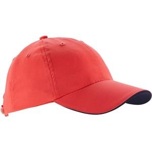 ARTENGO Schirmmütze Tennis-Cap Schlägersport Kinder korallenrot, Größe: Einheitsgröße