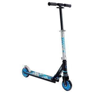 OXELO City-Roller Scooter Mid 3 Kinder mit Federung schwarz/blau, Größe: MULTICOLOR