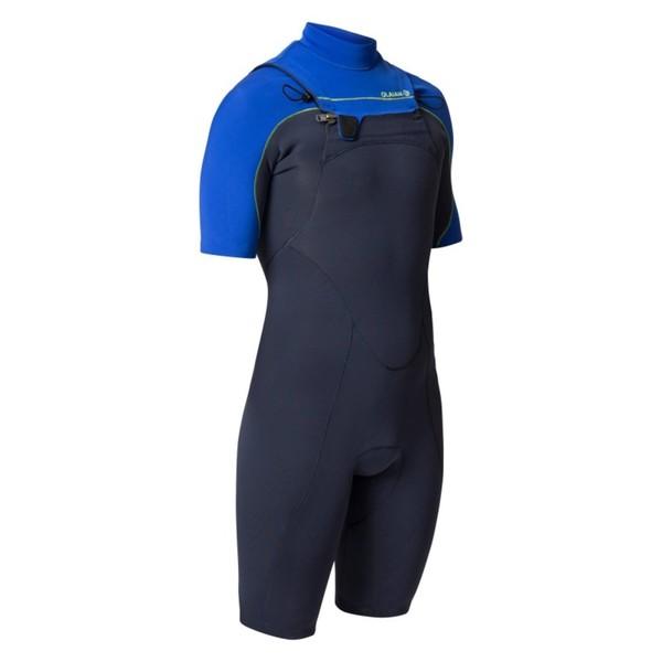 OLAIAN Neoprenanzug Shorty Surfen 900 Neopren 2mm Brust-RV Herren blau, Größe: M