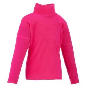 QUECHUA Fleecepullover Hike 50 Kinder rosa, Größe: 8 J. - Gr. 128