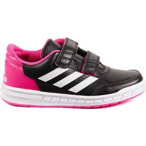 ADIDAS Tennisschuhe Altasport Turnschuhe Kinder schwarz/pink, Größe: 28