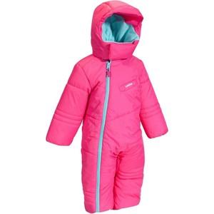 WED´ZE Schneeanzug Luge 100 Baby rosa, Größe: 12 M. - Gr. 74