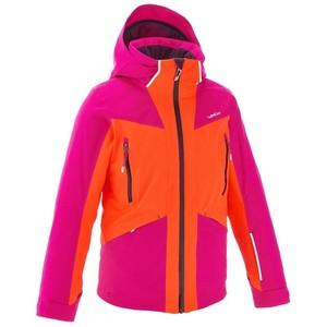 WED´ZE Skijacke Slide 700 Kinder rosa/neonorange, Größe: 10 J. - Gr. 140