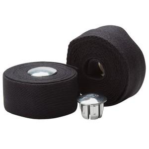 B´TWIN Lenkerband Baumwolle schwarz, Größe: Alle