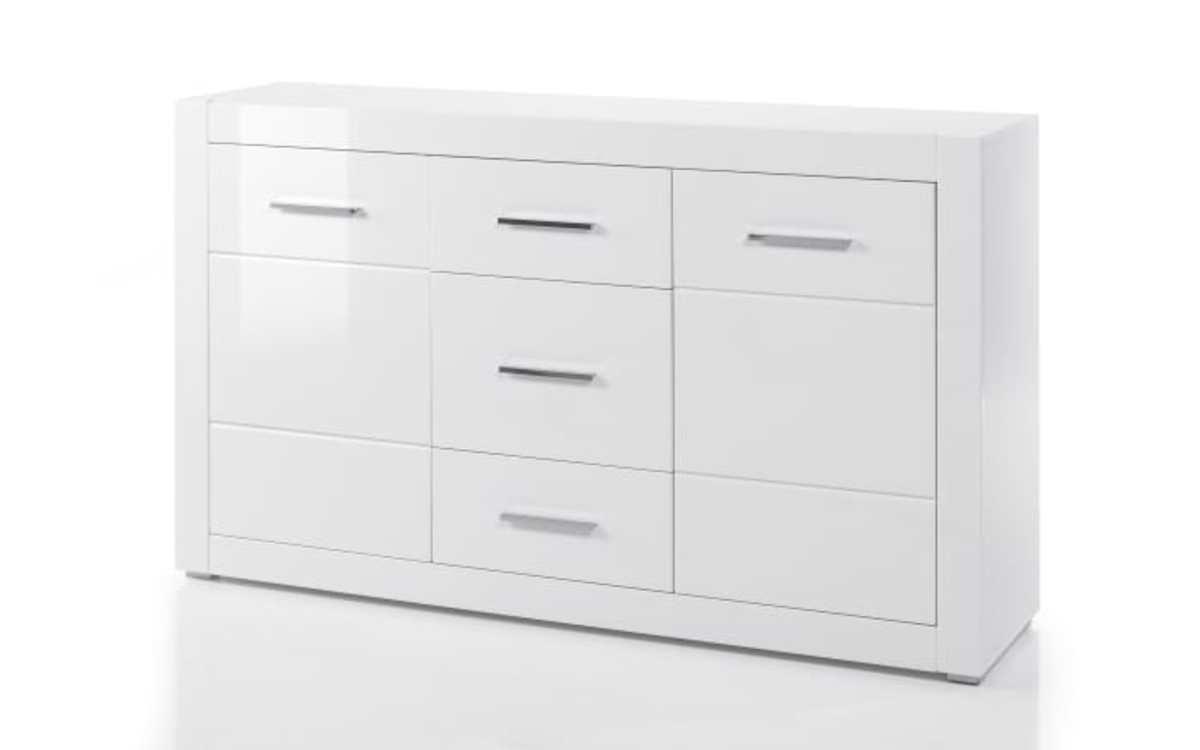 Bild 1 von HARDi - Sideboard Bianco in weiß/ Hochglanz-Optik
