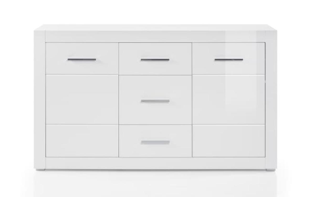 Bild 2 von HARDi - Sideboard Bianco in weiß/ Hochglanz-Optik