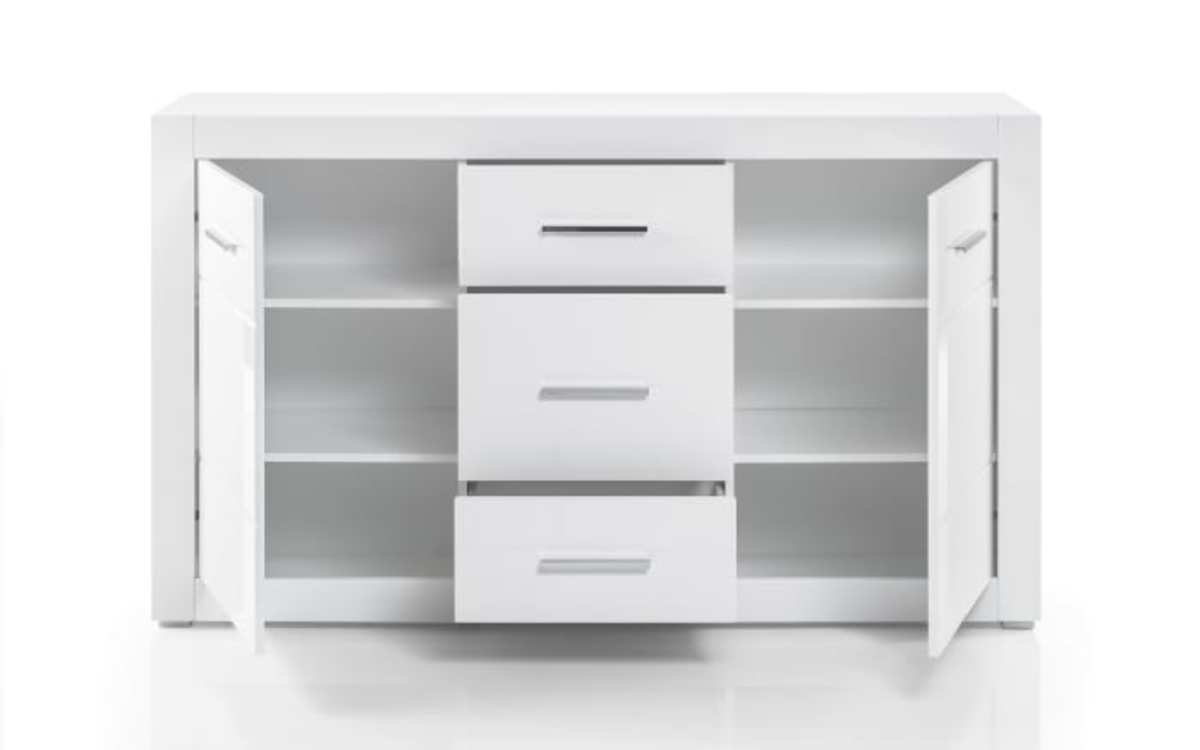 Bild 3 von HARDi - Sideboard Bianco in weiß/ Hochglanz-Optik