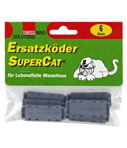 Swissinno Ersatzköder für Lebendfalle MausHaus, 6 Stk.