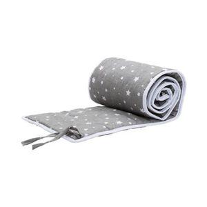 FILLIKID   Nestchen für Beistellbett Cocon 26x165 cm Sterne grau