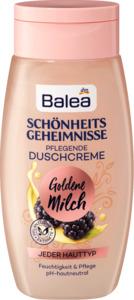Balea Duschgel Schönheitsgeheimnisse Goldmilch & Brombeere