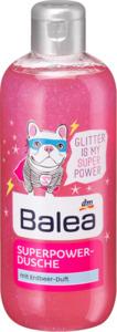 Balea Dusche glitter ist superpower