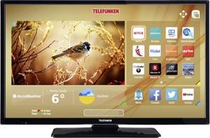 Telefunken B32F545B LED-TV 81 cm 32 Zoll EEK A+ DVB-T2, DVB-C, DVB-S, Full HD, Smart TV, WLAN, CI+ Schwarz