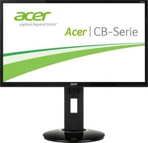 Acer CB241Hbmidr LED-Monitor 61 cm (24 Zoll) EEK B 1920 x 1080 Pixel Full HD 1 ms VGA, DVI, HDMI™ TN Film
