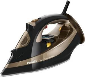 Dampfbügeleisen Philips GC4527/00 Azur Performer Plus Schwarz, Gold 2600 W