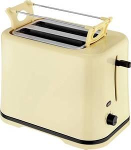 Toaster kabelgebunden, mit Brötchenaufsatz EFBE Schott SC TO 1080 V Vanille