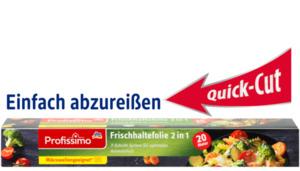 Profissimo Premium Frischhaltefolie 2 in 1