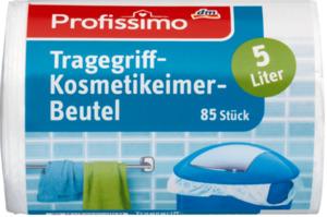 Profissimo Kosmetikeimer-Müllbeutel mit Tragegriff 5L
