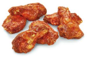 Chicken Wings  gewürzt
