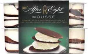 Vanille- oder After Eight Mousse