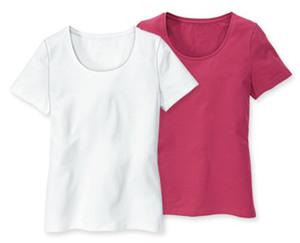 BlueMotion Basic-Shirts, Herbst, 2er-Set
