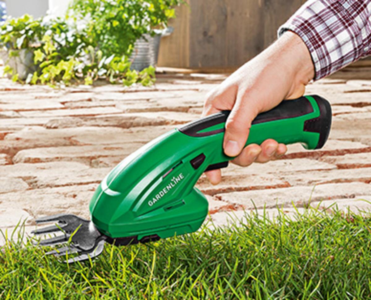 Bild 3 von GARDENLINE®  Akku-Gras- und Strauchschere
