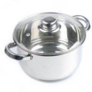 Edelstahl-Pastatopf