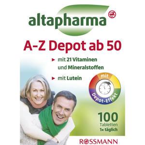 altapharma A-Z Depot ab 50 2.60 EUR/100 g