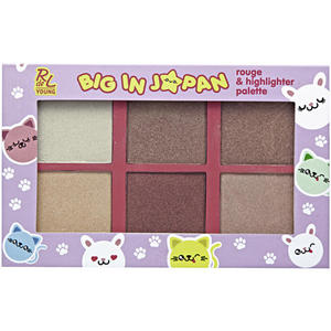 RdeL Young Big in Japan Rouge & Highlighter Palette 26.60 EUR/100 g