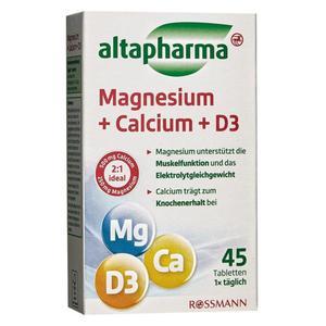 altapharma Magnesium + Calcium + D3