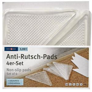 IDEENWELT 4er Set Anti-Rutsch-Pads