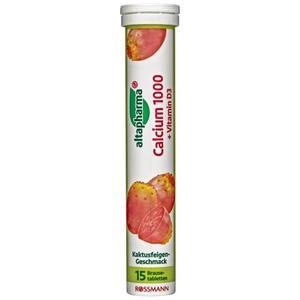 altapharma Brausetabletten Calcium 1000 + Vitamin D3 1.53 EUR/100 g
