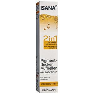 ISANA Pigmentflecken Aufheller Pflegecreme 9.98 EUR/100 ml