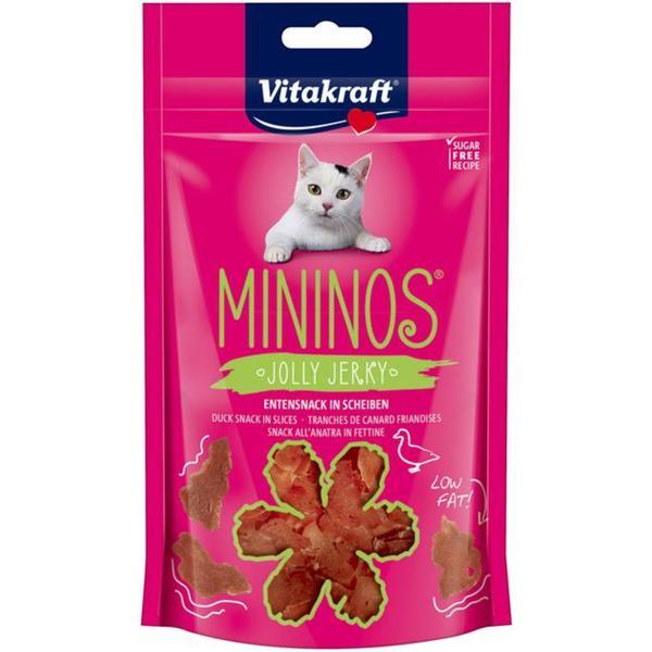 Vitakraft Mininos Jolly Jerky Entensnack in Scheiben 3.23 EUR/100 g