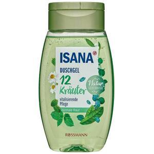 ISANA Duschgel 12 Kräuter 0.40 EUR/100 ml