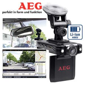 AEG Autokamera GF 30 hohe Auflösung und Bildqualität, Nachtsichtfunktion, 6 cm TFT-Farbbildschirm