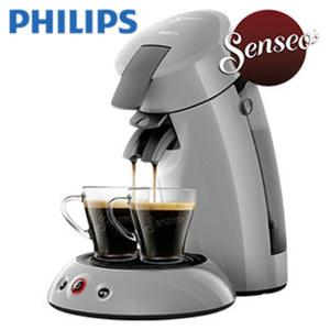 Kaffee-Padautomat HD 6553/XX Original · für 1 - 2 Tassen/Becher · Abschaltautomatik nach 30 min