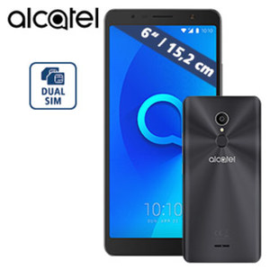 Smartphone 3C (A3 XL 5026D) · 2 Kameras (5 MP/8 MP) · microSD™-Slot bis 128 GB · Android™ 7.0