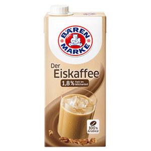 Bärenmarke Der Eiskaffee 1,8 % Fett, jede 1-Liter-Packung
